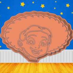 Cool Wluffh.png Download STL file TOY STORY JESSIE COOKIE CUTTER • 3D printer model, KDASH
