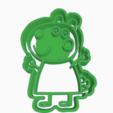 Download 3D printer designs SUZI PEPPA PIG COOKIE CUTTERS, KDASH
