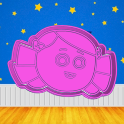 qqqqeee.png Download STL file TOY STORY DOLLY COOKIE CUTTER • 3D printable object, KDASH