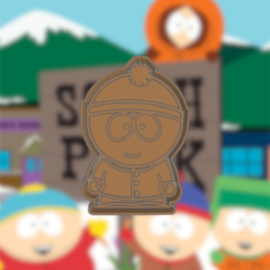 Download 3D printing files SOUTH PARK STAN COOKIE CUTTER, KDASH