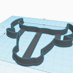 Download 3D printing templates TORO CUTTING HEAD OF COOKIES, KDASH