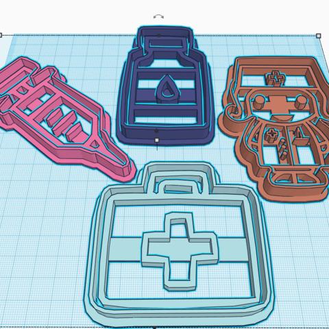 3D printer models DOCTOR KIT X4, KDASH