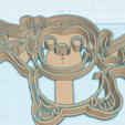 Modelos 3D para imprimir CURIOSO KIT GEORGE X5 CORTADORES DE GALLETAS, KDASH