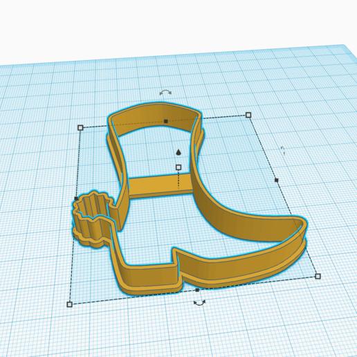 Download 3D printing designs SHERIFF SHORT COOKIE BOOT DESIGN, KDASH