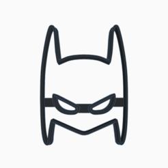 Fantabulous Hillar-Bruticus.png Download STL file BATMAN MASK COOKIE CUTTER • Model to 3D print, KDASH