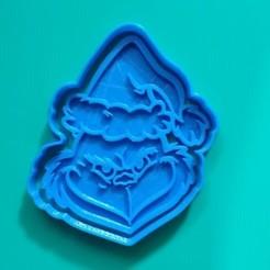 Descargar diseños 3D CORTADOR DE GALLETAS GRINCH, KDASH