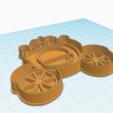 Descargar modelos 3D para imprimir CORTADOR DE GALLETAS DE CARRUAJE, KDASH