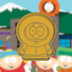 Download 3D printer designs SOUTH PARK KENNY COOKIE CUTTER, KDASH