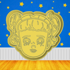 Cool jggh.png Download STL file TOY STORY GABBY GABBY COOKIE CUTTER • 3D printer object, KDASH