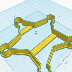 Mighty Esboo (2).png Télécharger fichier STL LE SHÉRIF STAR COUPE DES BISCUITS • Modèle pour imprimante 3D, KDASH