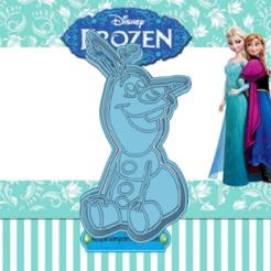 Sizzling Snicket-enter.png Download STL file FROZEN OLAF COOKIE CUTTER • 3D printing design, KDASH