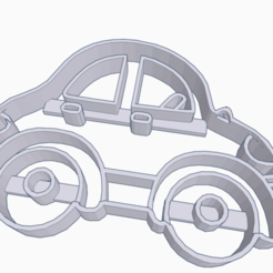 STL file CUTTING OF COOKIES IN THE FORM OF VEHICLE, KDASH