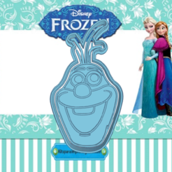 Sizzling Snicket-Luulia.png Download STL file FROZEN OLAF COOKIE CUTTER • 3D printing design, KDASH