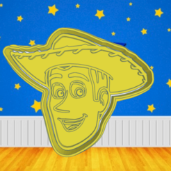 Smashing Snicket.png Download STL file WOODY TOY STORY COOKIE CUTTER • 3D printing template, KDASH