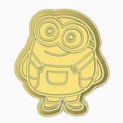 Daring Hango-fg.png Download STL file MY FAVORITE VILLAIN MINIONS BOB COOKIE CUTTER • 3D printable object, KDASH