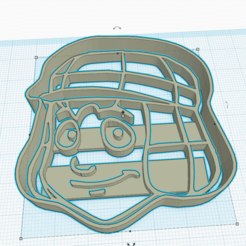 Free 3D printer model CHAVO COOKIE CUTTER, KDASH