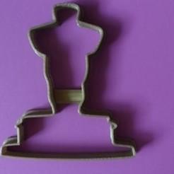 Download 3D printer model OSCAR AWARD COOKIE CUTTER, KDASH