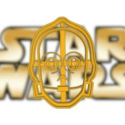 Frantic Bombul.png Télécharger fichier STL STAR WARS C3PO COOKIE CUTTER • Objet pour imprimante 3D, KDASH