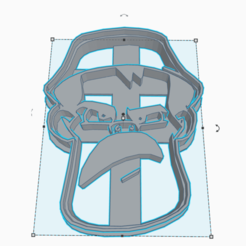 3D printer models DON RAMON COOKIE CUTTER, KDASH