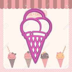 qqwd.png Download STL file ICE CREAM COOKIE CUTTER • 3D printable object, KDASH