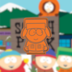 Download 3D printer templates SOUTH PARK KYLE COOKIE CUTTER, KDASH