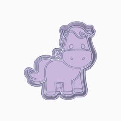 Super Turing.png Download STL file PONY COOKIE CUTTER HORSE • 3D print model, KDASH