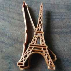 Impresiones 3D TOWER EIFFEL COOKIE CUTTER, KDASH