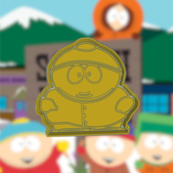 Download 3D printing templates SOUTH PARK CARTMAN COOKIE CUTTER, KDASH