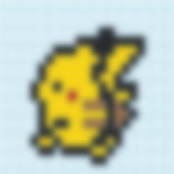 Pokemon_yellow_pikachu_cheek.stl Download free STL file Pikachu • Design to 3D print, countingendlessrepetition