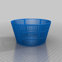 36da456d03e5267b086c9906b8de14bf.png Download free STL file Basket Cheese Mold • 3D printer template, countingendlessrepetition