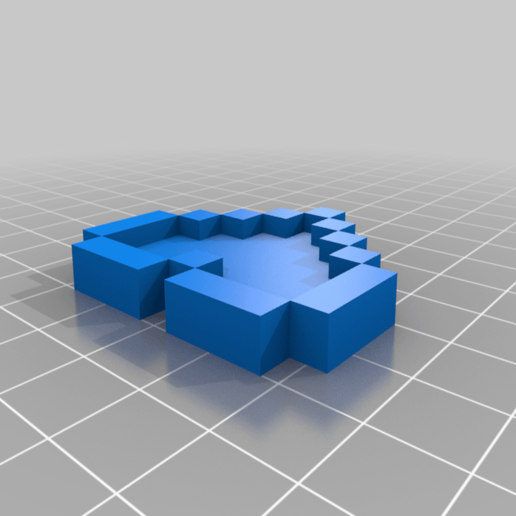 Zelda_Heart_Back_no_hole.png Download free STL file Zelda Heart • 3D printable design, countingendlessrepetition