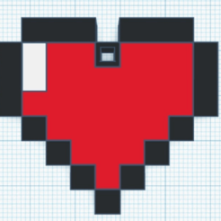 Download free STL file Zelda Heart • 3D printable design, countingendlessrepetition
