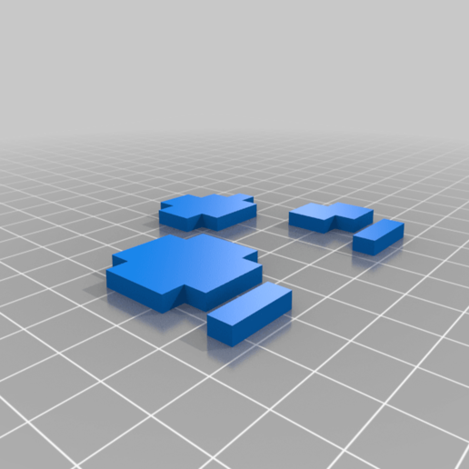 Mario_Mushroom_red.png Download free STL file Mario Mushroom • Template to 3D print, countingendlessrepetition