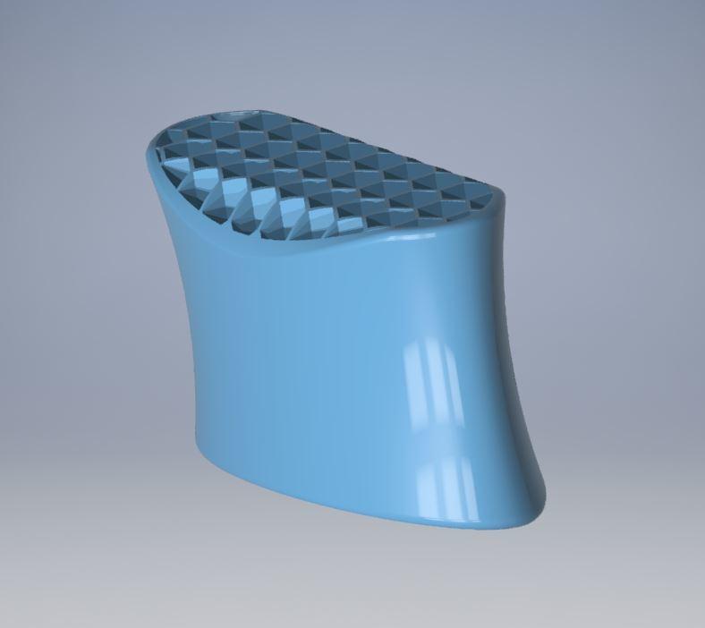 PENCIL HOLDER 2 3.JPG Descargar archivo STL gratis PENCIL HOLDER / POSA LAPICES 2 • Objeto imprimible en 3D, ricgtena