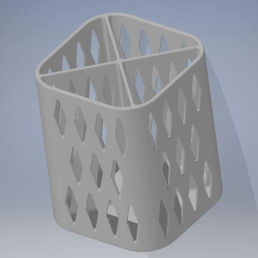 PENCIL HOLDER 1 2.JPG Download free STL file PENCIL HOLDER / POSA PENCILS • 3D printing object, ricgtena