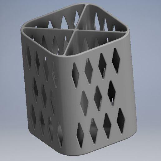 Download free 3D printer designs PENCIL HOLDER / POSA PENCILS, ricgtena