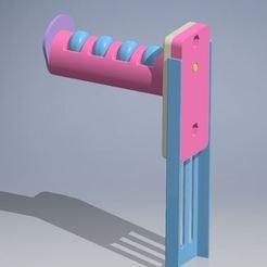 PORTAROLLOS 4.3.JPG Télécharger fichier STL PORTE-BOBINE POUR IMPRIMANTE 3D • Plan pour imprimante 3D, ricgtena