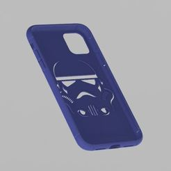 Download STL file IPHONE 11 STORMTROOPER CASE • Design to 3D print, ricgtena