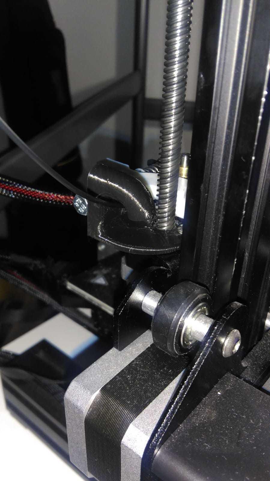 SOPORTE POLEA EXTRUSOR V2.4.jpeg Télécharger fichier STL gratuit GUIDE DU FILAMENT Ender 3 • Plan pour impression 3D, ricgtena