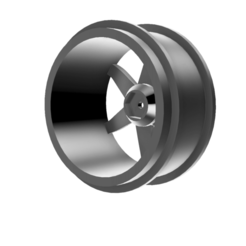 12mm wheel 1.8th 2.png Download STL file Te37 Wheels for 1 to 8th size rc cars with 12mm hex • 3D print design, surajgagnani