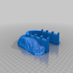 Download free STL file Units Trench Bunker, Part of The Modular Barricade and Wall System For Tabletop Games like Warhammer 40k • 3D printing design, KaerRune