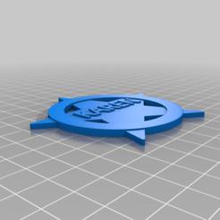 Karenbadge.png Download free STL file Karen Deputy Badge - Know Your Memes! • 3D printable object, KaerRune