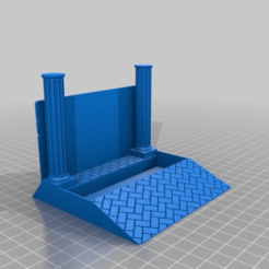 9c5bd97dd1f309ec9b72ddfa3c414c54.png Download free STL file Business Card Holder with Ancient to Medieval Dungeon Theme • 3D printing design, KaerRune