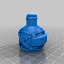 50c1c58a073d48a8b7f08882664494f8.png Download STL file More Potion Flasks and Bottles For Dungeons & Dragons, Pathfinder and Other Tabletop Games • Model to 3D print, KaerRune