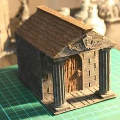 02.JPG Download STL file Mausoleum - Graveyard Themed Set for Dungeons and Dragons, Warhammer of Tabletop fantasy games. • 3D printing object, KaerRune
