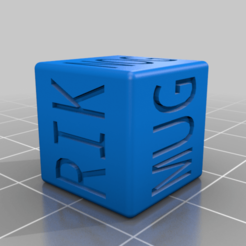 ORK_NAME_DICE_2.png Download free STL file ORC / ORK and GOBLIN Name Generating D6 Dice for Dungeons & Dragons, Warhammer and any other Table Top game • 3D printing object, KaerRune