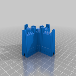 Download free STL file Modular Barricade and Wall System For Tabletop Gaming, Warhammer 40k and more. • Design to 3D print, KaerRune