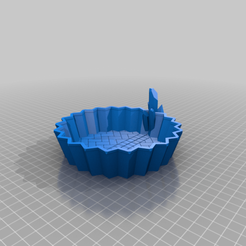 Crystal_Cluster_Dice_Tray.png Download free STL file Underdark Cave Terrain With Crystal Clusters Dice Trays for Dungeons & Dragons, Pathfinder, Warhammer or Other Tabletop Games • 3D printable template, KaerRune