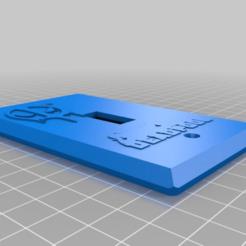 3a32f6c48f3e69abb9987278916edf50.png Download free STL file Deadpool Insignia Logo Light Switch Plate • Object to 3D print, KaerRune