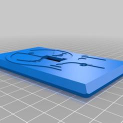 c91b482b1f186ee8646f296f5d229210.png Download free STL file Deadpool Insignia Logo Light Switch Plate • Object to 3D print, KaerRune